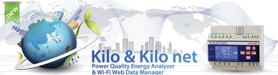 Kilo D6 - Energy Analyzer & Web Data Manager