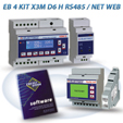 PFA5613-92  EB 4 KIT X3M D6 H RS485 / NET 2DI 2DO WEB