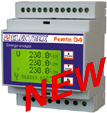 PFA6481-12  FEMTO D4 DC 3I RS485 230-240V 1DI 2DO ENERGY ANALYZER
