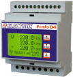 PFA6491-02  FEMTO D4 3I 70A RS485 230-240V ENERGY ANALYZER