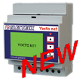 PFA94D3-98  YOCTO NET WEB LOG 8 MAIL CALENDAR D4 15÷36V 2DI 2DO NET. BR.