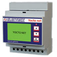 PFA94D3-99 YOCTO NET WEB LOG 8 MAIL CALENDAR CHARTS D4 15÷36V 2DI 2DO NETWORK BRIDGE