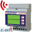 PFA94DA-07 YOCTO NET COORDINATOR WEB D4 E-WI EDA 15÷36V 2DI 2DO NETWORK BRIDGE