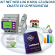 PKA0052-00  KIT NET WEB LOG 8 MAIL CALENDAR CHARTS EB CONFIGURATOR