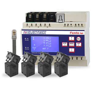PFN66-H0708-0M0 FEMTO 4HALL RJ45 D6 DC 18-60VDC ENERGY ANALYZER & DATA MANAGER