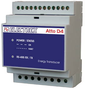 PFA7481-12  ATTO D4 DC 3I RS485 230-240V 1DI 2DO ENERGY ANALYZER
