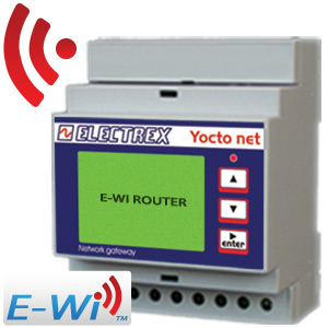 PFA94DH-17 YOCTO NET WEB ROUTER D4 E-WI HI 15÷36V 2DI 2DO NETWORK BRIDGE