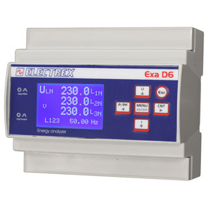 PFAE611-02 EXA D6 RS485 230-240V ENERGY ANALYZER