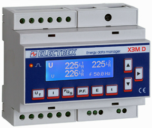 PFE842-00 X3M D6 H 85÷265V ENERGY DATA MANAGER