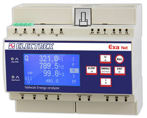 PFNE6-11509-F10  EXA NET D6 WEB LOG 8 FULL 85÷265V ENERGY ANALYZER & WEB DATA MANAGER