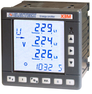 PFE411-04 X3M 96 15÷40V ENERGY DATA MANAGER