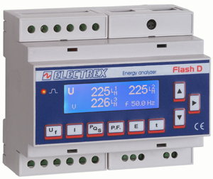 PFE432-00 FLASH D6 H 85÷265V ENERGY ANALYZER